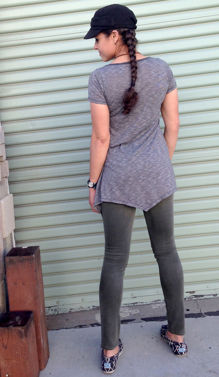 Go Couture and Marc Allison Jeans - Back View