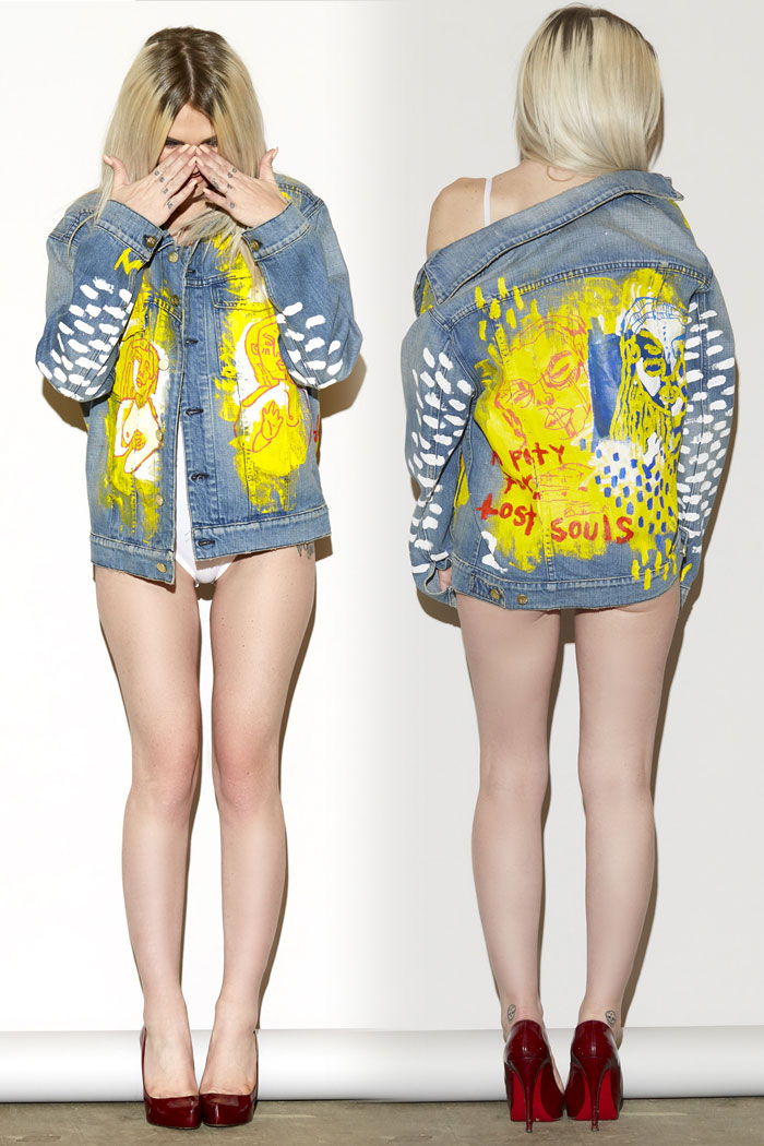 Unique Denim Pieces by MADE GOLD x Yuki Haze - Strike Oversized Jacket #1