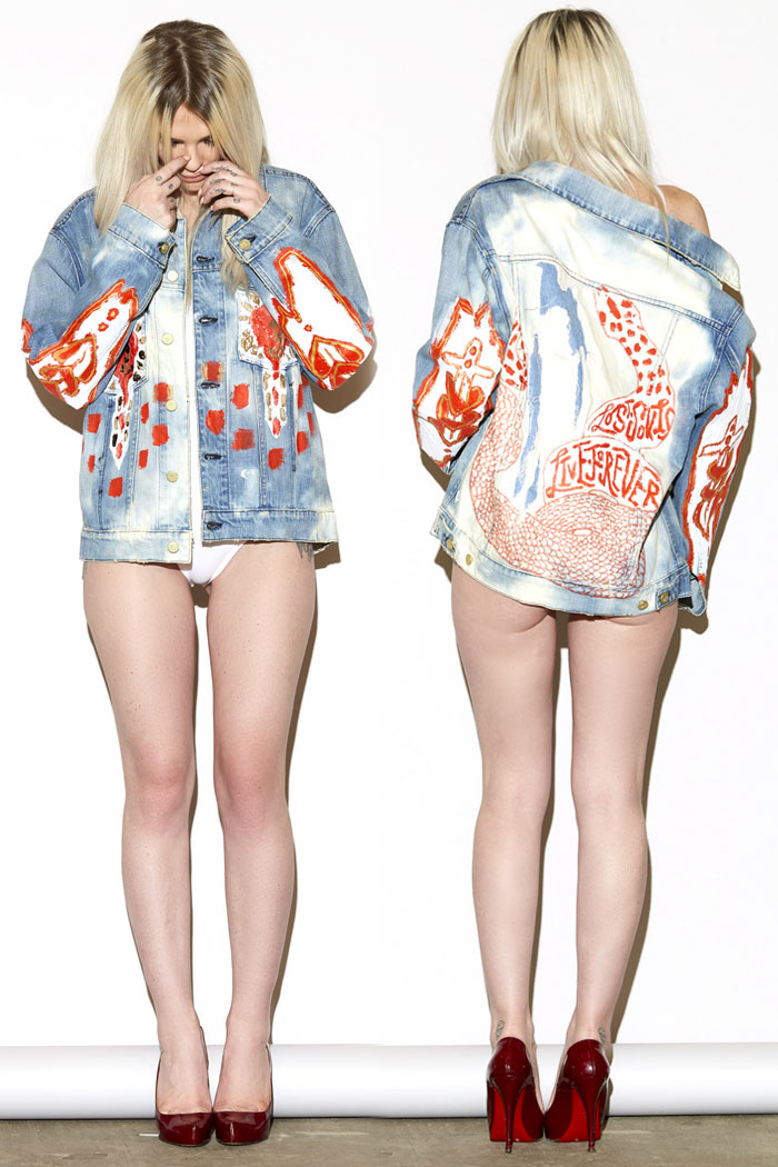 Unique Denim Pieces by MADE GOLD x Yuki Haze - Strike Oversized Jacket #3