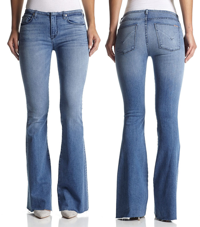 New Fun Flares from Hudson Jeans - Tyler Flare in Altair
