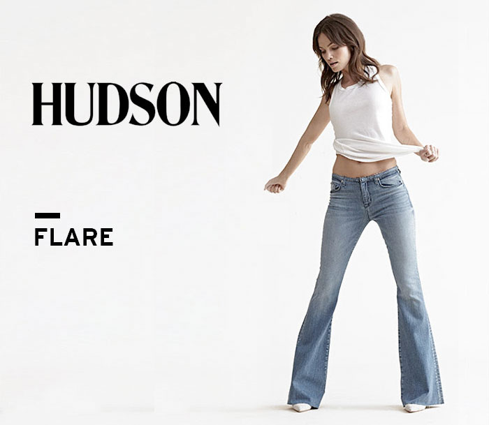 New Fun Flares from Hudson Jeans