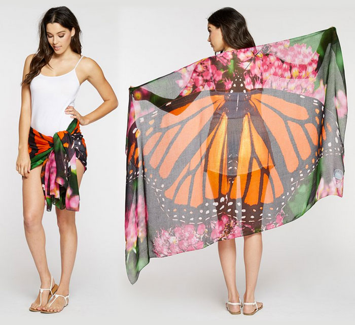 Endangered Species Scarves by Threads 4 Thought - Butterfly