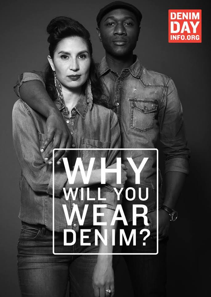 Today is Denim Day 2016 by Peace Over Violence