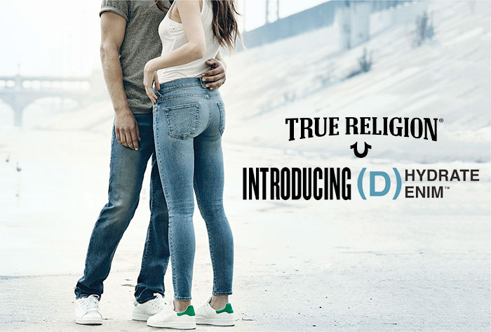 True Religion Introduces (D)Hydrate Denim