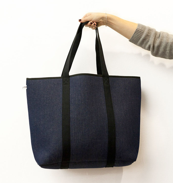 Modern Takes on Denim and Indigo at Fab - Beach Bag