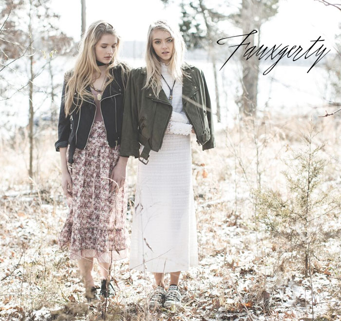 Omnivore Friendly Vegan Jackets by Fauxgerty - Promo Image