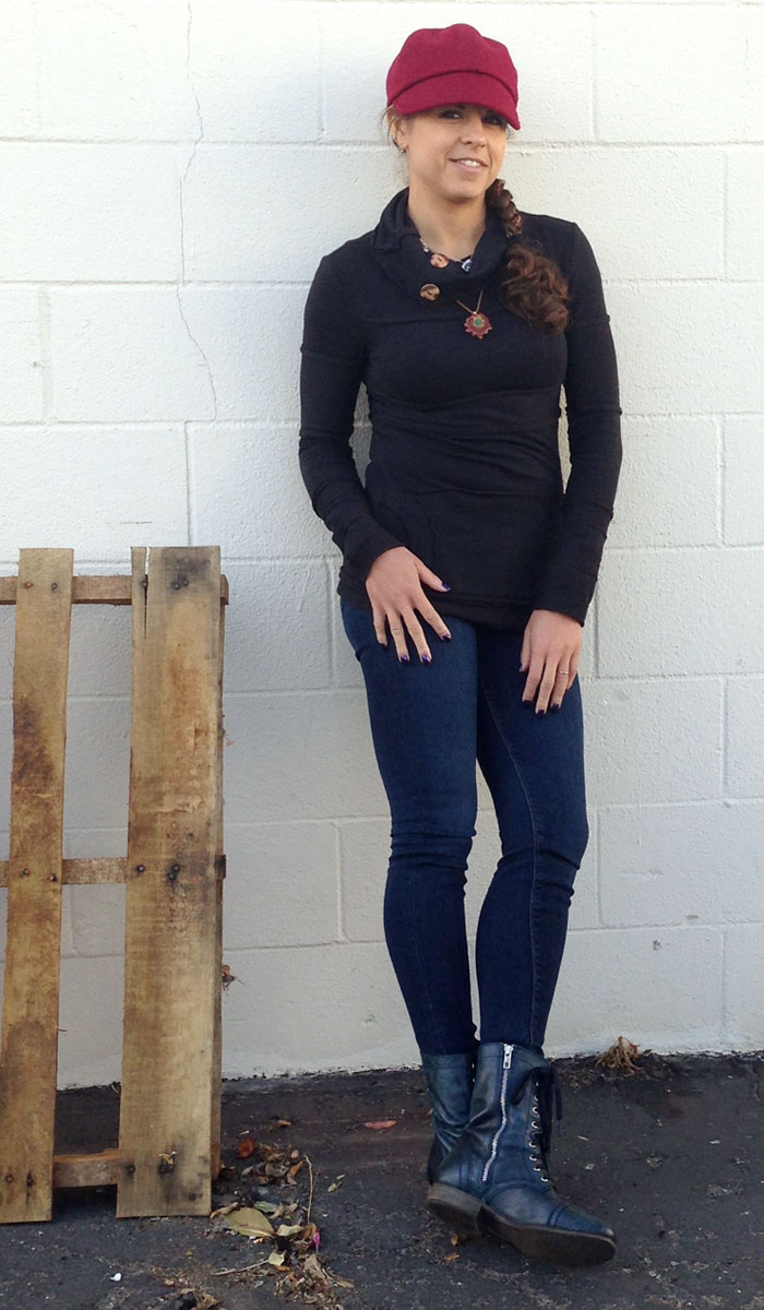 Nomad's Hemp Wear and Hudson Jeans - Front Shot 3