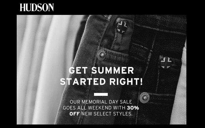 Memorial Day Denim Sale Picks - Hudson