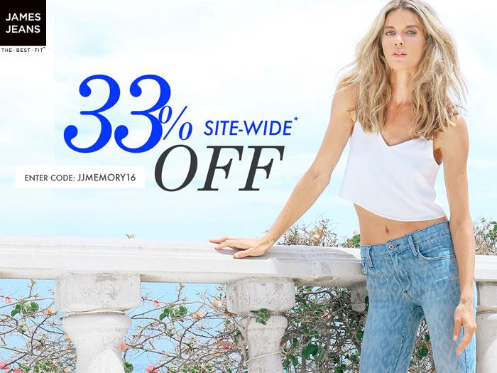 Memorial Day Denim Sale Picks - James Jeans