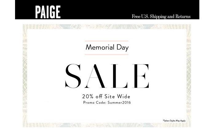 Memorial Day Denim Sale Picks - Paige