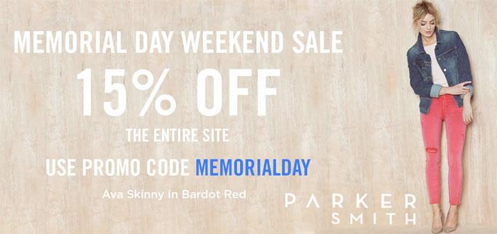 Memorial Day Denim Sale Picks - Parker Smith