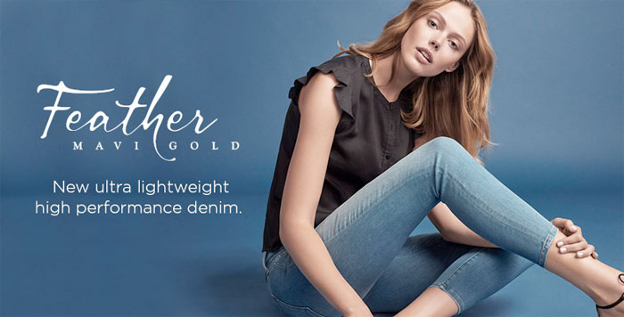 The New Feather Jeans Collection by Mavi Gold