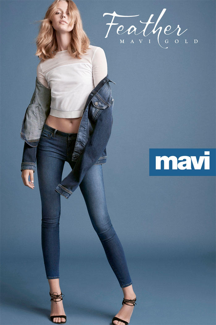 The New Feather Jeans Collection by Mavi Gold - Adriana