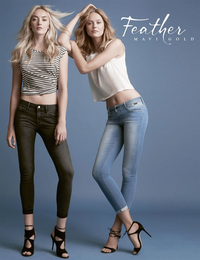 The New Feather Jeans Collection by Mavi Gold - Alissa