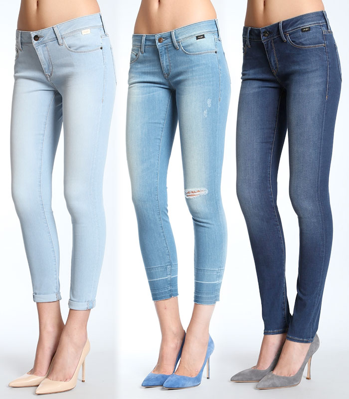 The New Feather Jeans Collection by Mavi Gold - Lexy, Alexa Ankle and Adriana