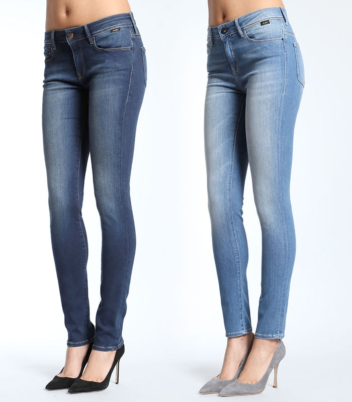 The New Feather Jeans Collection by Mavi Gold - Alexa and Alissa