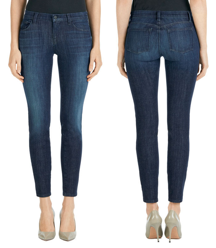 J Brand Introduces Hi-Def Stretch Jeans - 811 Mid Rise Skinny in Daring