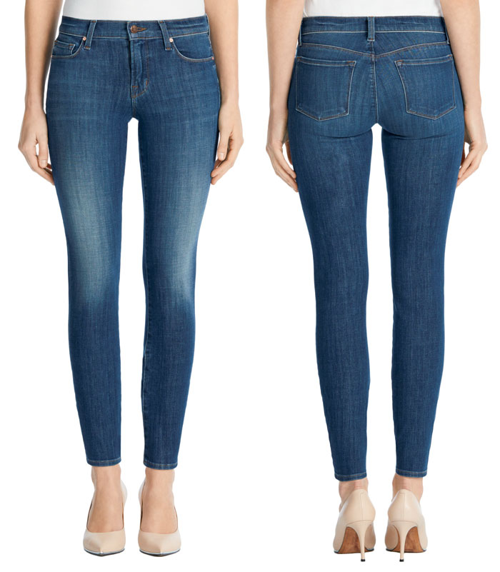 J Brand Introduces Hi-Def Stretch Jeans - 811 Mid Rise Skinny in Thrill