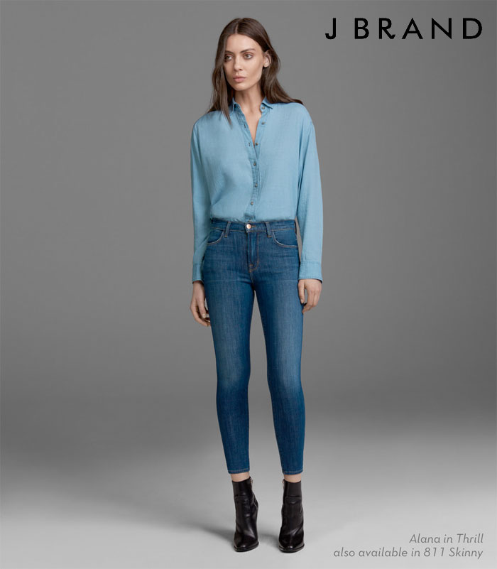 J Brand Introduces Hi-Def Stretch Jeans - Alaina