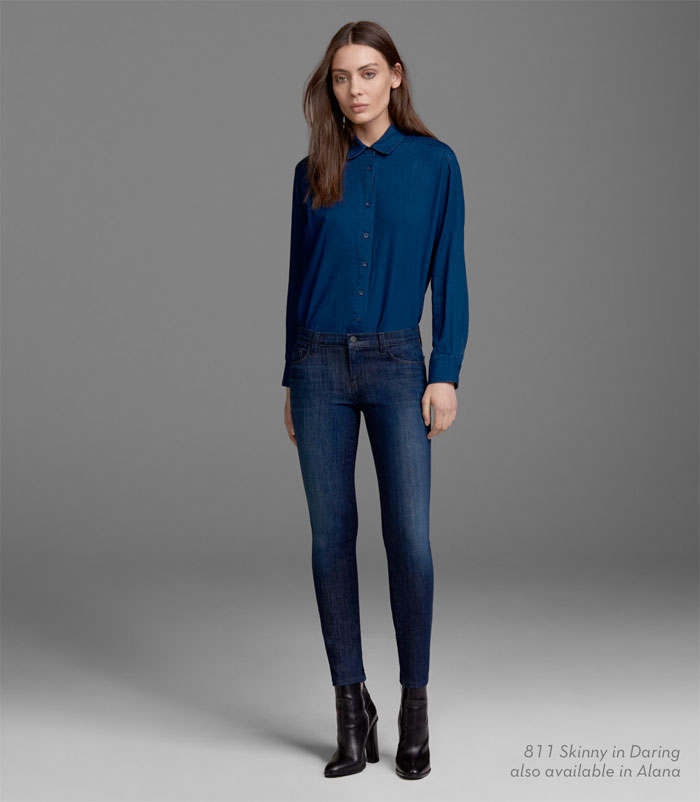 J Brand Introduces Hi-Def Stretch Jeans - 811