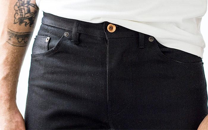 Responsibly Produced Jeans by Noble Denim - Men's Black Denim