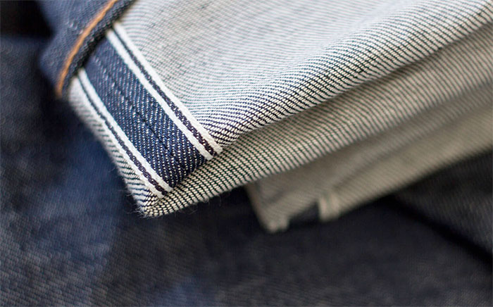 Responsibly Produced Jeans by Noble Denim - Selvedge Closeup