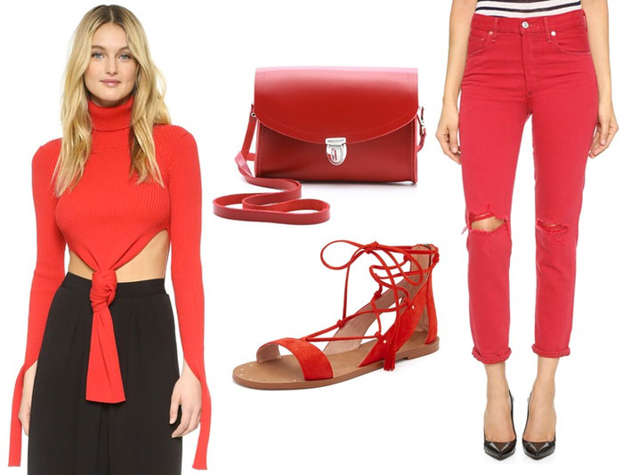 Shop Your Favorite Primary Colors at Shopbop - Red