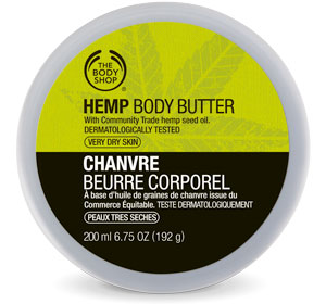 Amazing Hemp Body Care at The Body Shop - Body Butter