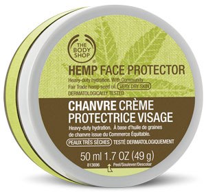 Amazing Hemp Body Care at The Body Shop - Face Protector