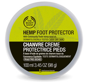 Amazing Hemp Body Care at The Body Shop - Foot Protector
