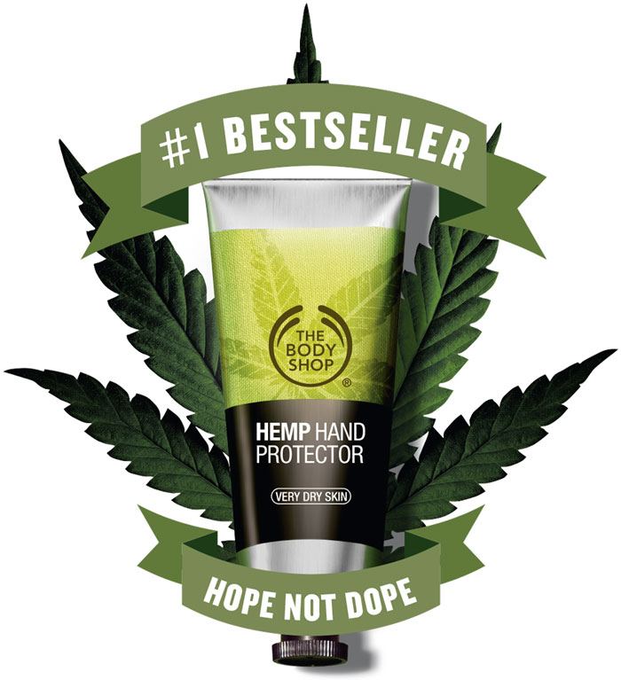 Amazing Hemp Body Care at The Body Shop - Hand Protector