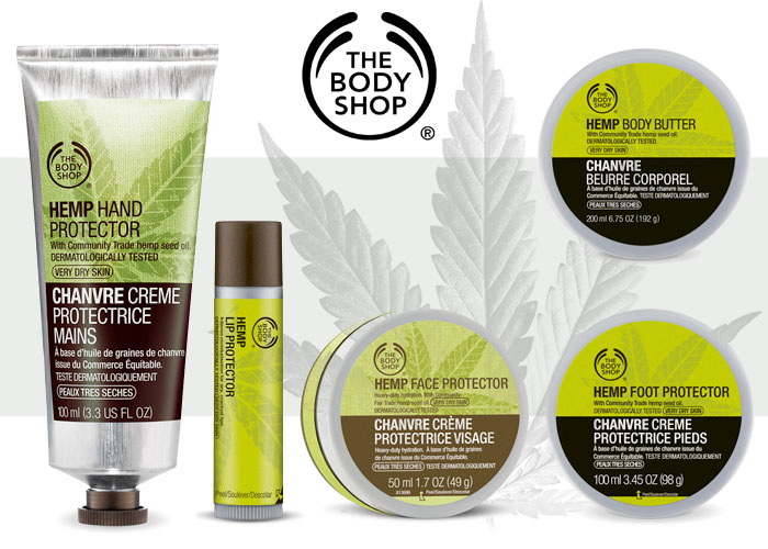 Amazing Hemp Body Care at The Body Shop