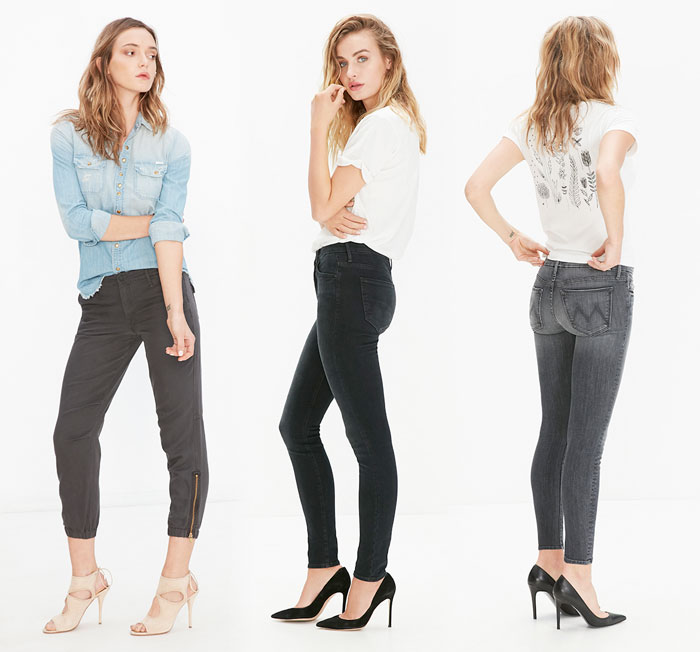 Elegant Dark Denim from The Black Sheep Story by MOTHER - Jeans 4