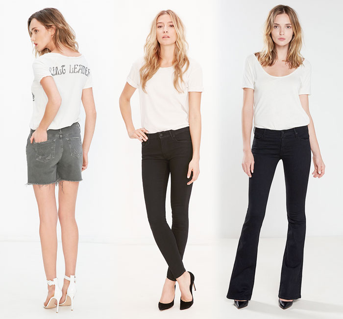 Elegant Dark Denim from The Black Sheep Story by MOTHER - jeans