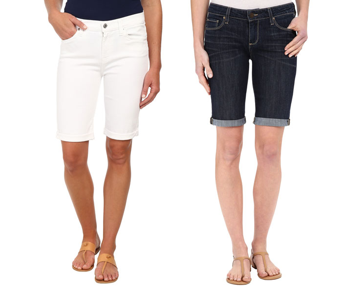 The Modest Denim Bermuda Short