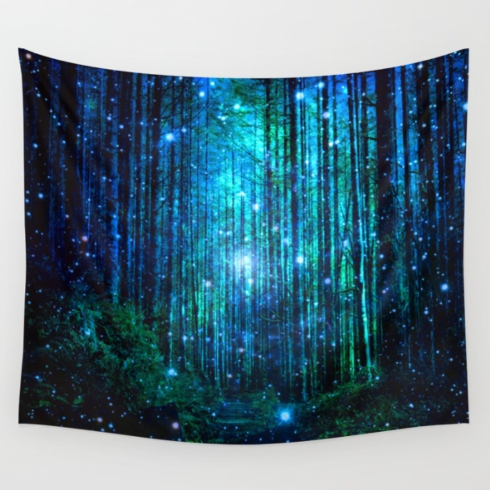 Tapestries for your Walls at Society6 - Magical Path by Haroulita