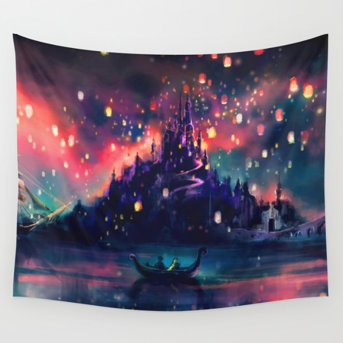 Tapestries for your Walls at Society6 - The Lights by Alice X. Zhang
