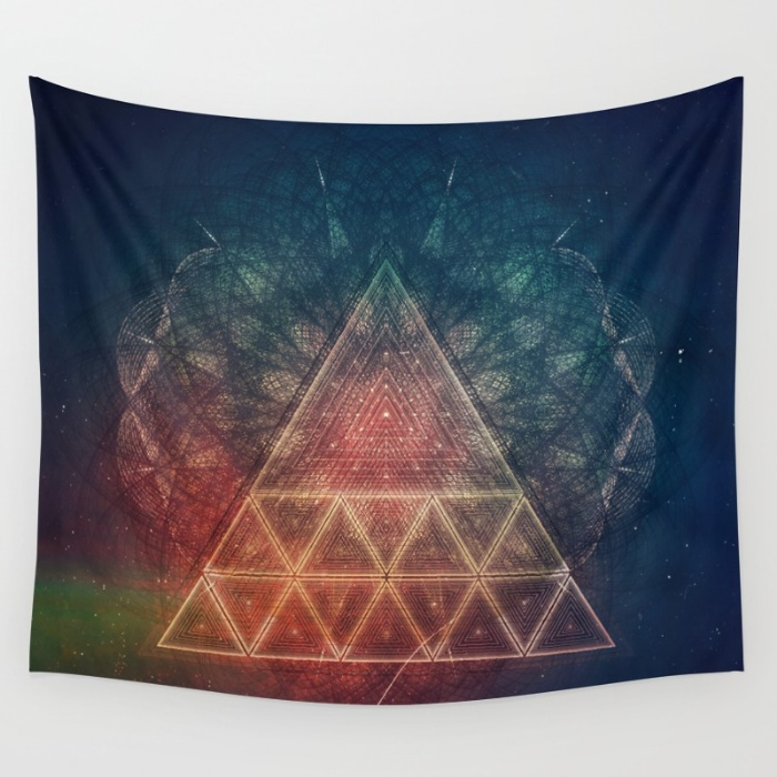 Tapestries for your Walls at Society6 - zpy yyy tryy by Spires