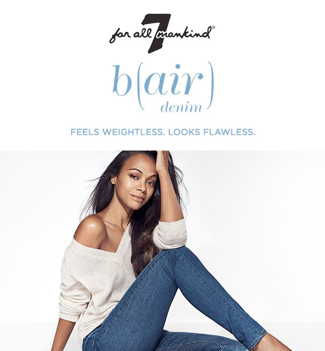 7 For All Mankind Introduces b(air) Denim