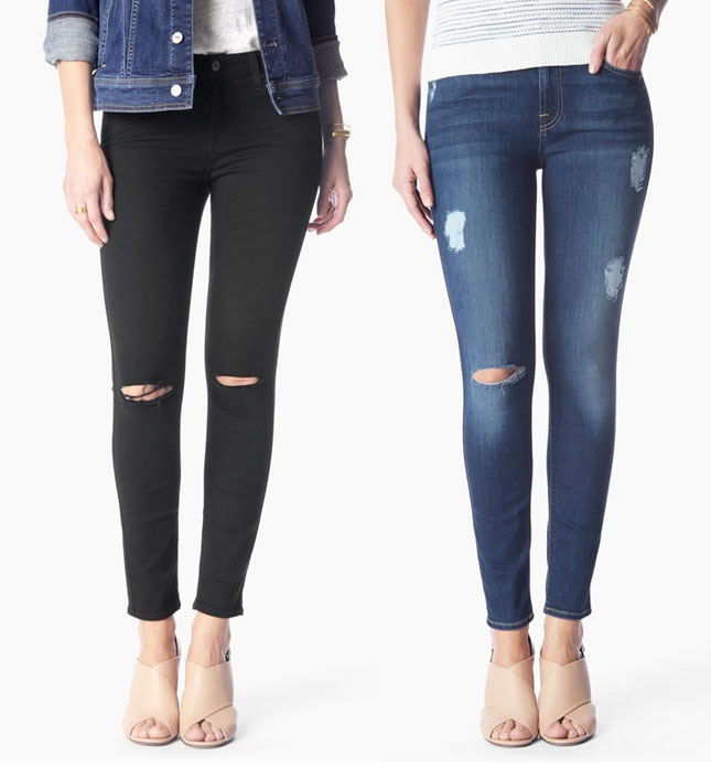 7 For All Mankind Introduces b(air) Denim - Skinnies