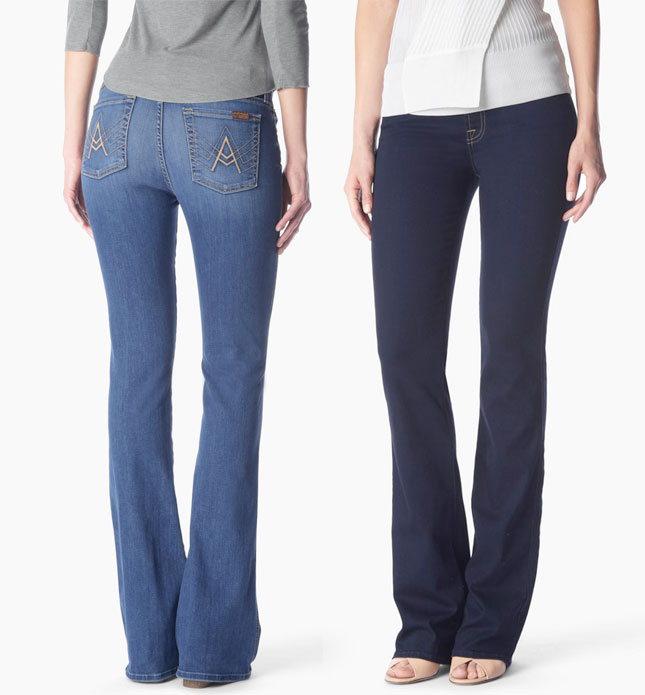 7 For All Mankind Introduces b(air) Denim - Bootcuts