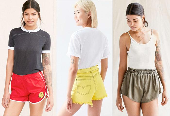 Urban Renewal Vintage Shop at Urban Outfitters - Shorts