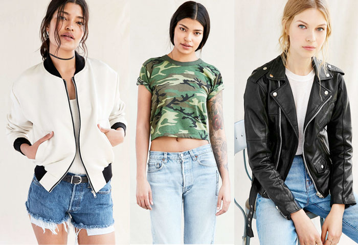 Urban Renewal Vintage Shop at Urban Outfitters - Jackets and Tee