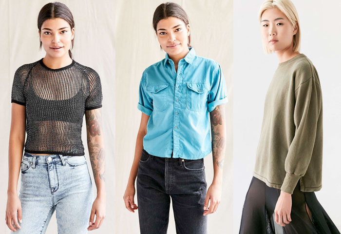Urban Renewal Vintage Shop at Urban Outfitters - Tops