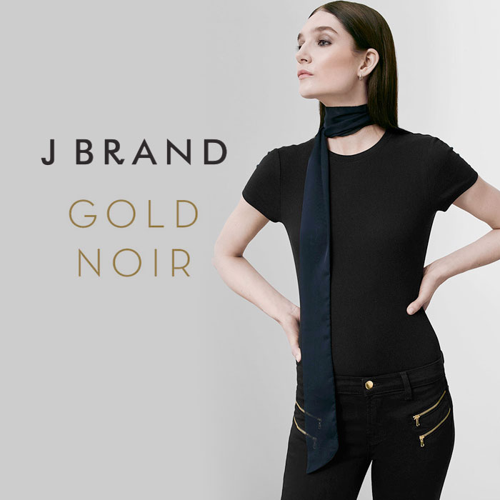 J Brand Gold Noir and Limited Edition 24k Natasha