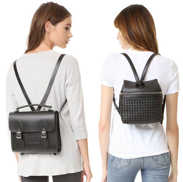 Backpacks are Back at Shopbop - Camgridge and Kara