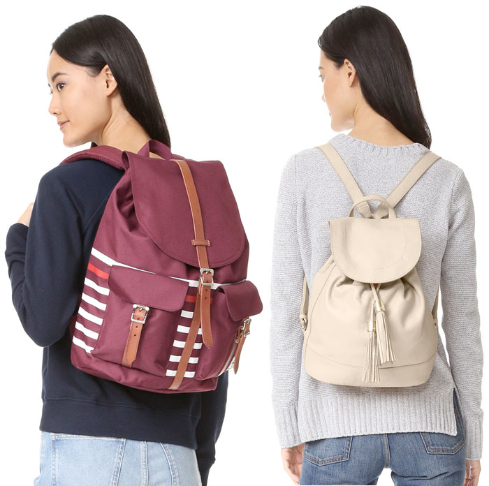 Backpacks are Back at Shopbop - Herschel and See by Chloe