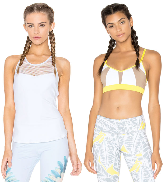 Eco Friendly and Modern Yoga Apparel by ALO - Tops