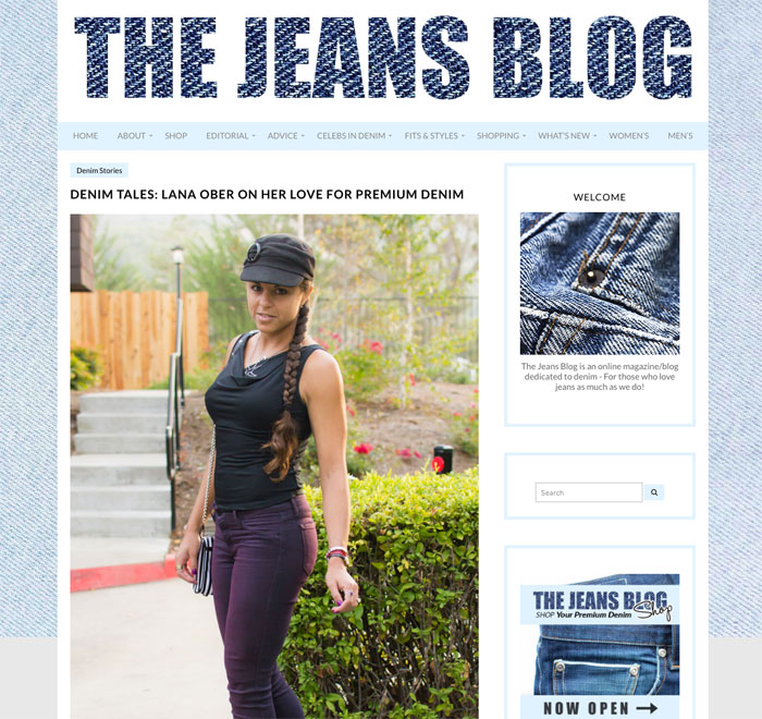 Birthday Recap of my Shiniest Moments in Blogging - The Jeans Blog Feature