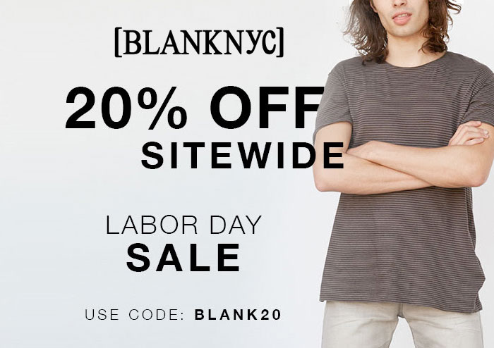 Best End of Summer and Labor Day Denim Sales - Blanknyc